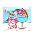 すいーつにゃんこ ~夏~(個別スタンプ:11)