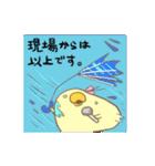 うちのひよこちゃん(仕事)(個別スタンプ:07)