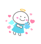 天使の毎日<大きい文字>(個別スタンプ:08)