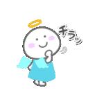 天使の毎日<大きい文字>(個別スタンプ:19)