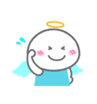 天使の毎日<大きい文字>(個別スタンプ:20)