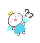 天使の毎日<大きい文字>(個別スタンプ:34)