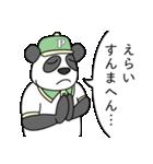 ありっちゃありなパンダのおっちゃん(個別スタンプ:11)