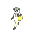 ありっちゃありなパンダのおっちゃん(個別スタンプ:19)