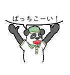 ありっちゃありなパンダのおっちゃん(個別スタンプ:31)