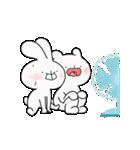 ゆる×ラブ♡うさっくま+4=夏(個別スタンプ:08)