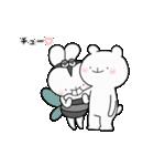 ゆる×ラブ♡うさっくま+4=夏(個別スタンプ:11)