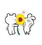 ゆる×ラブ♡うさっくま+4=夏(個別スタンプ:14)