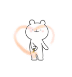 ゆる×ラブ♡うさっくま+4=夏(個別スタンプ:19)