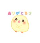 うごくぴよちりちゃん+(個別スタンプ:02)