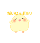 うごくぴよちりちゃん+(個別スタンプ:03)