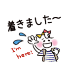 シンプル&カラフル【災害・緊急用】(個別スタンプ:23)