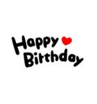 大切な人に贈る♡誕生日♡お祝いの言葉(個別スタンプ:20)