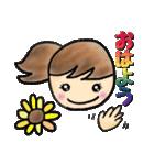 ❺【カラフルさんの日常使えるスタンプ】(個別スタンプ:01)