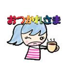 ❺【カラフルさんの日常使えるスタンプ】(個別スタンプ:02)