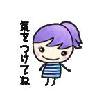 ❺【カラフルさんの日常使えるスタンプ】(個別スタンプ:12)