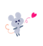 りんこのちょこっとマウス(個別スタンプ:01)