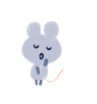 りんこのちょこっとマウス(個別スタンプ:06)