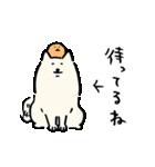 自分ツッコミくま (もぐら)(個別スタンプ:07)