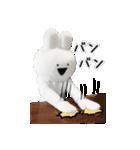 すこぶる動くウサギ【実写版】(個別スタンプ:2)