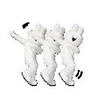 すこぶる動くウサギ【実写版】(個別スタンプ:5)