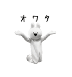 すこぶる動くウサギ【実写版】(個別スタンプ:11)
