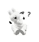 すこぶる動くウサギ【実写版】(個別スタンプ:14)