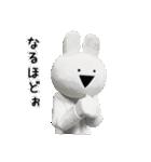 すこぶる動くウサギ【実写版】(個別スタンプ:17)