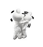 すこぶる動くウサギ【実写版】(個別スタンプ:31)