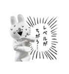 すこぶる動くウサギ【実写版】(個別スタンプ:34)