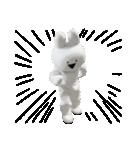 すこぶる動くウサギ【実写版】(個別スタンプ:39)