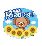 トイプードルの日常【夏♪】(個別スタンプ:14)