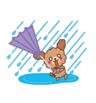 トイプードルの日常【夏♪】(個別スタンプ:20)