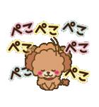 トイプードルの日常【夏♪】(個別スタンプ:29)