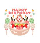 年齢の誕生日お祝いケーキ(1~40歳)(個別スタンプ:06)