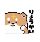 まる柴っち!(個別スタンプ:6)