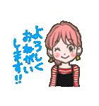 使いやすい★可愛いカラフル女子スタンプ 2(個別スタンプ:02)