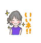 使いやすい★可愛いカラフル女子スタンプ 2(個別スタンプ:09)