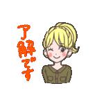 使いやすい★可愛いカラフル女子スタンプ 2(個別スタンプ:31)