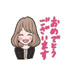 使いやすい★可愛いカラフル女子スタンプ 2(個別スタンプ:32)
