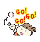 野球応援ママのスタンプ(個別スタンプ:38)
