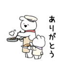 すこぶるウサギ-cafe-(個別スタンプ:6)