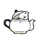 すこぶるウサギ-cafe-(個別スタンプ:15)