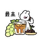 すこぶるウサギ-cafe-(個別スタンプ:20)