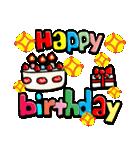 お誕生日おめでとう!セット(個別スタンプ:19)