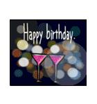 お誕生日おめでとう!セット(個別スタンプ:22)