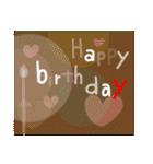 お誕生日おめでとう!セット(個別スタンプ:33)