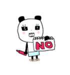 パンダ姉さん*日常*リアクション(個別スタンプ:08)