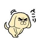 目ヂカラ☆わんこ5【毎日使える】(個別スタンプ:12)