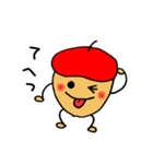 赤いベレー帽の、ドン・ぐりお(個別スタンプ:21)